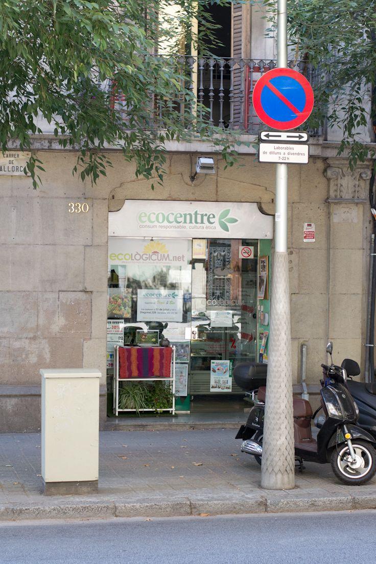 Ecocentre: Vegan Store in Barcelona (Spain)