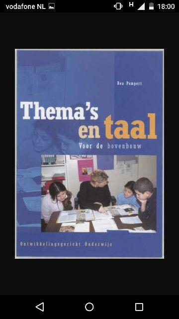 Goed boek hoe je taal kunt gebruiken binnen je wo thema's