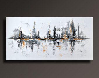 72 distenderla ABSTRACT originale grande dipinto su tela di itarts