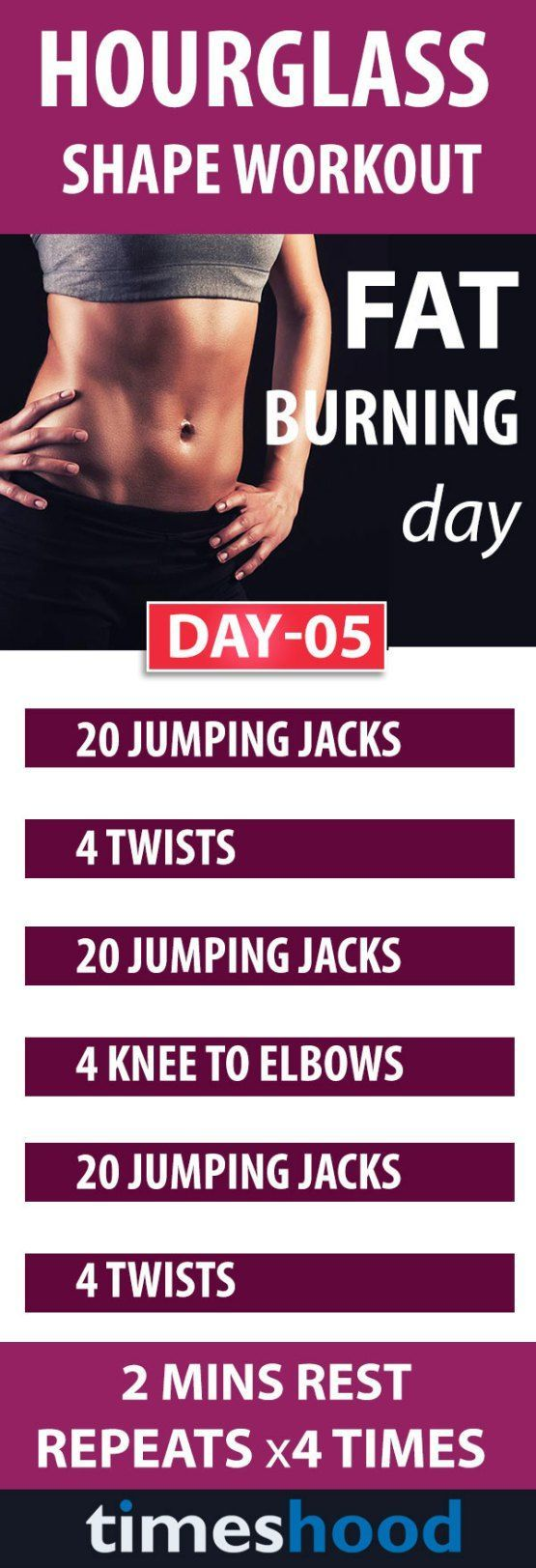 Trying to get an hourglass figures? Try this total body workouts to get an hourglass shape. Its 10 days workouts plan for beautiful curves, sexy abs, slim waist, and bigger butt. Every day will target on different body part. Best workouts for women. Fat burning workouts plan: day 5. Best workouts plan for women. Total body workouts for women. Best exercise for hourglass shape. Best tips to get an hourglass shape. Fat burning workouts plan. #exercisetips