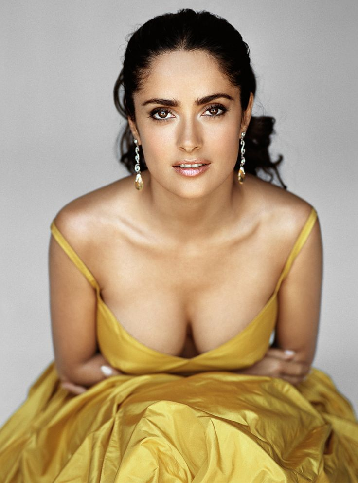 "Salma Hayek is of Lebanese and Spanish ancestry. ""Salma"" means ""peace"" or ""calm"" in Arabic."
