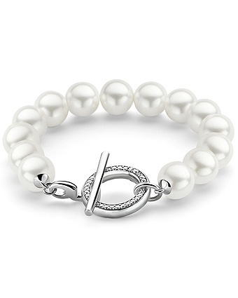 Ti Sento 2430 White Pearl Bracelet  Available at: www.always-forever.com