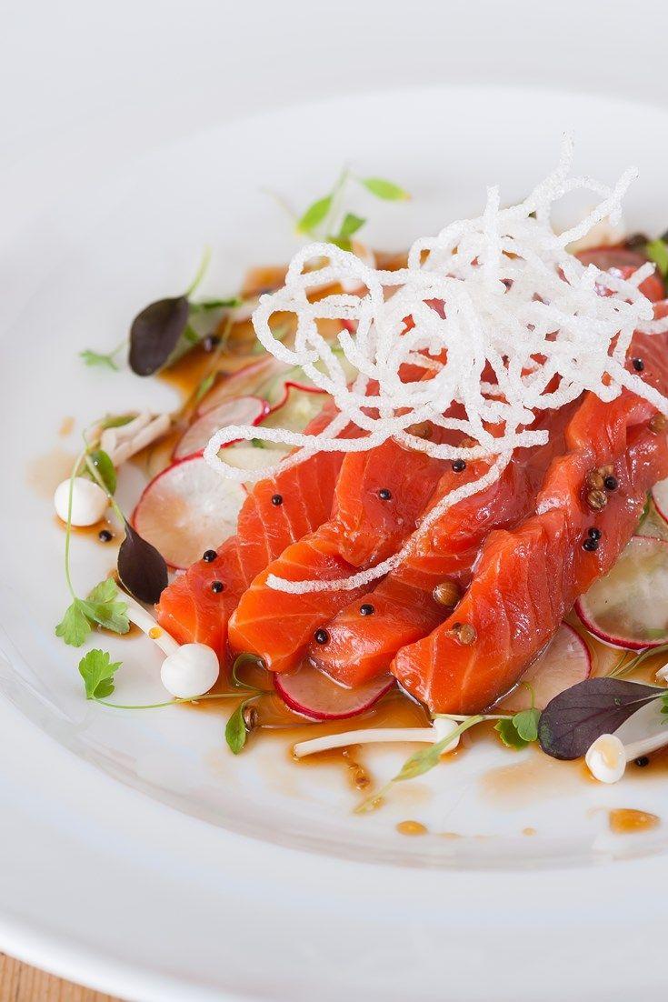 Blue apron yuzu kosho - Soy Mirin And Yuzu Marinated Salmon With White Radish Apple And Cucumber Salad