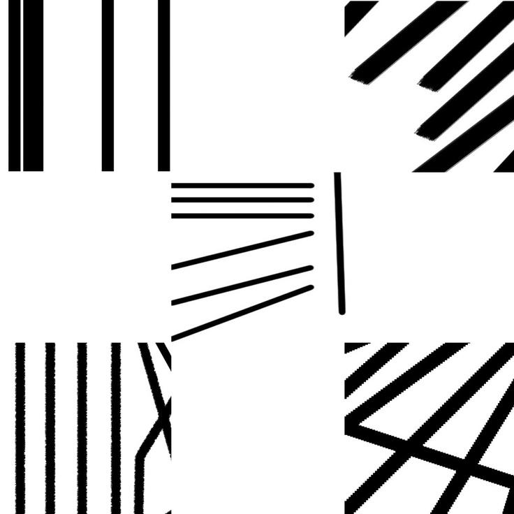 interrupted lines studies Graphic design school, School