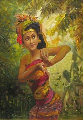 Balinese Dancer by Koeh Sia Yong (Singapore)
