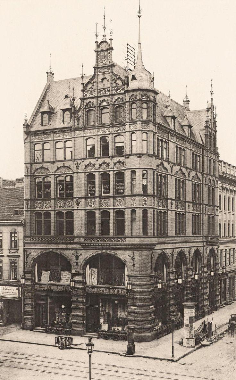 Berlin in alten Bildern - Leipziger Str. 43-44, 1887, Grisebach