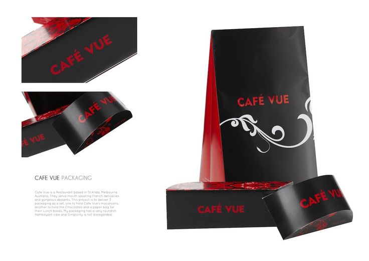CAfe Vue Packaging