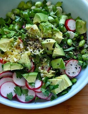 This salad isn't just delicious, it's easy too!