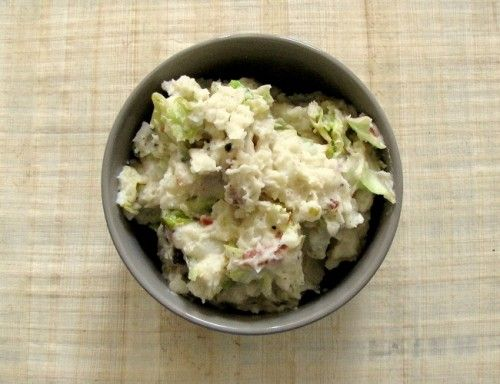 Irish Cuisine For St. Patrick's Day: Colcannon Potatoes with Bacon and Corned Beef with Cabbage and Carrots