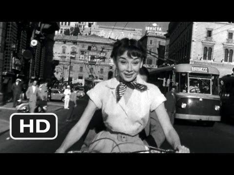 Roman Holiday (9/10) Movie CLIP - Vespa Ride (1953) HD - YouTube