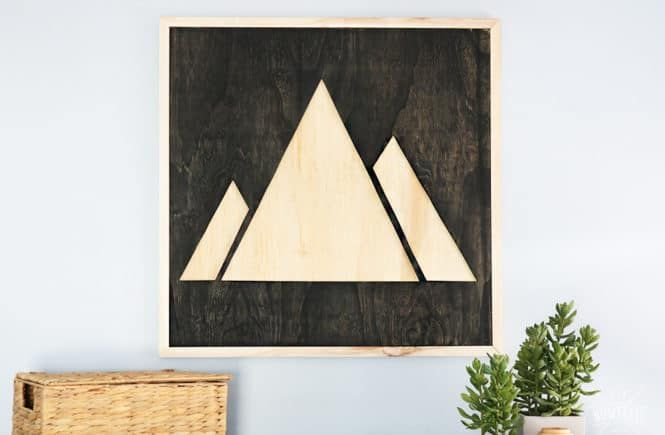 DIY Woodworking Ideas plywood artwork