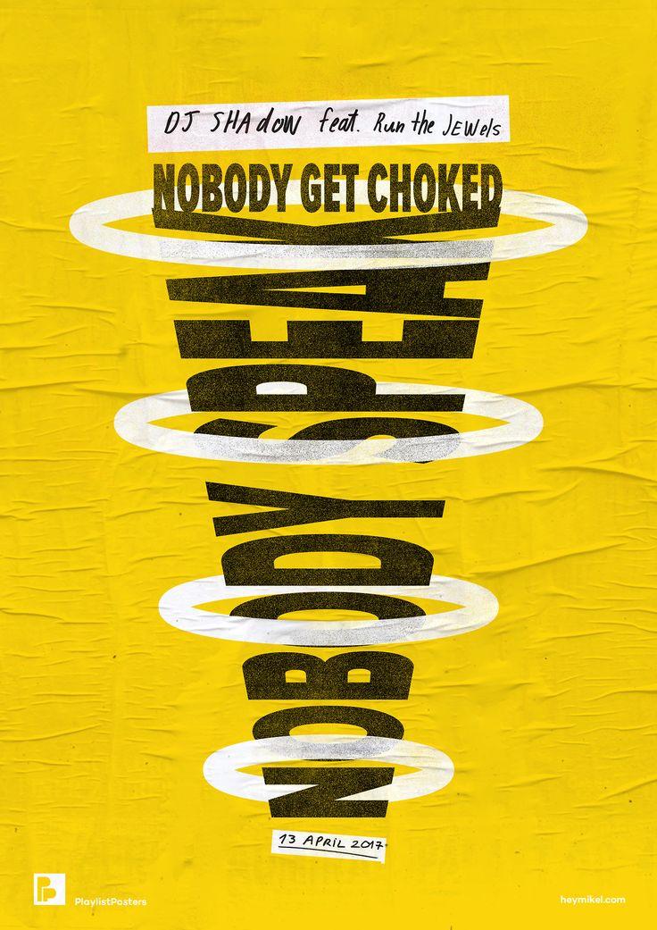 Playlist-posters // DJ Shadow feat. Run The Jewels - Nobody Speak playlistposters.tumblr.com | Playlist Posters