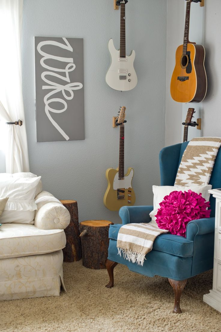Simple Living Room..like the guitars although I dont play 8)