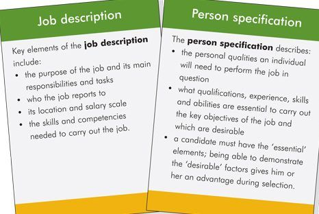 a job description and job specification for a starbucks employee Job description grade: position responsibilities/duties: • greets guests  in a prompt, positive, friendly manner and making them feel.