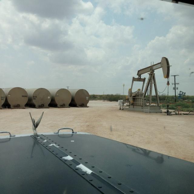 Oil fields near Andrews TX