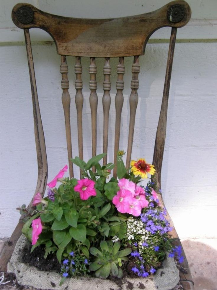 145 Best Images About Chair Garden On Pinterest Gardens Rocking Chairs And Wrought Iron Chairs