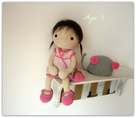 Amigurumi Doll House : 27 best images about Haken: Rusi Dolls on Pinterest ...
