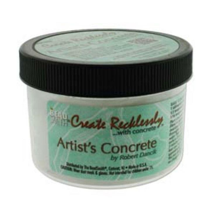 Create Recklessly - Artist's Concrete - White (Base Colour) (8 oz) [s50282] - $21.95 : BeadFX Online, Your Favourite Beading Experience