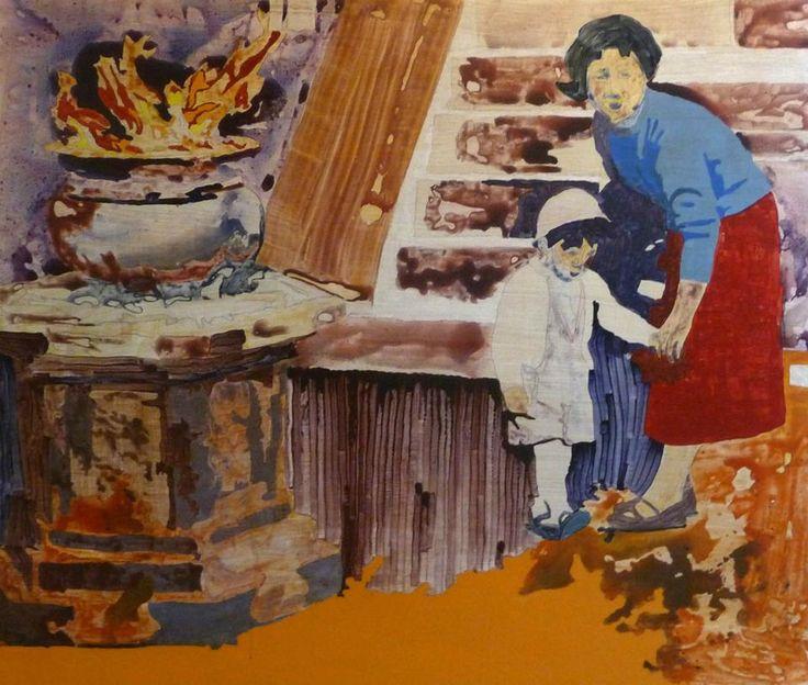 Peter Hallberg Painting.