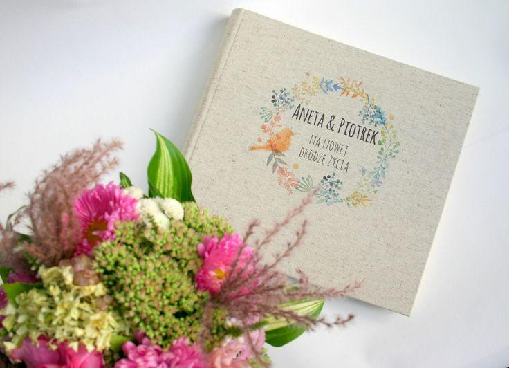 Wedding present - special, personalized album for memories :)  #album #photo #memories #handmade #notebooksdesign