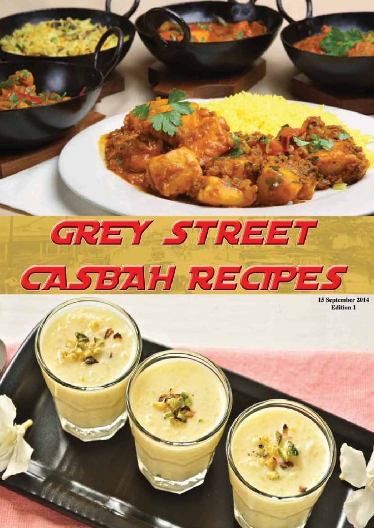 Food recipes of the Casbah (Durban)