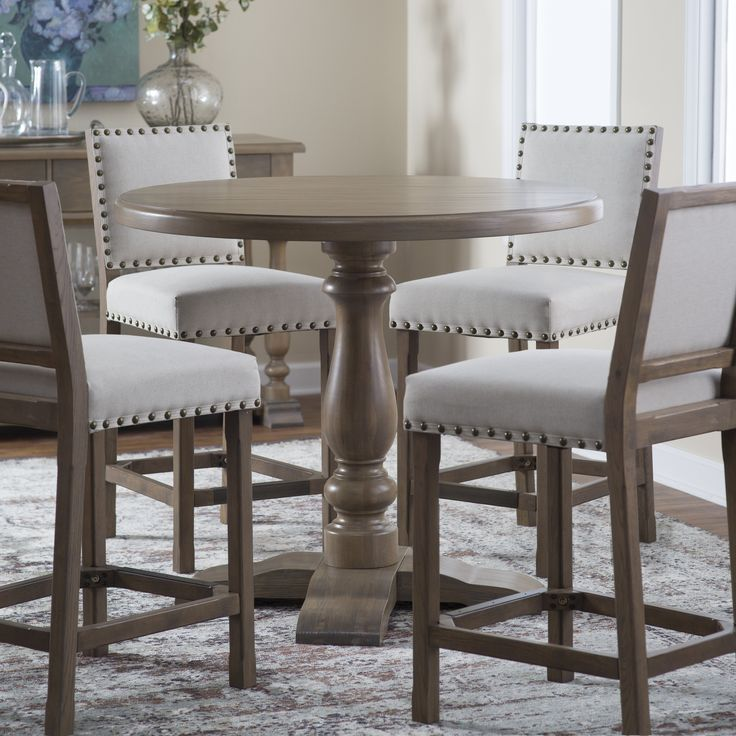 17 best ideas about counter height stools on pinterest for Dining room tables 42 round