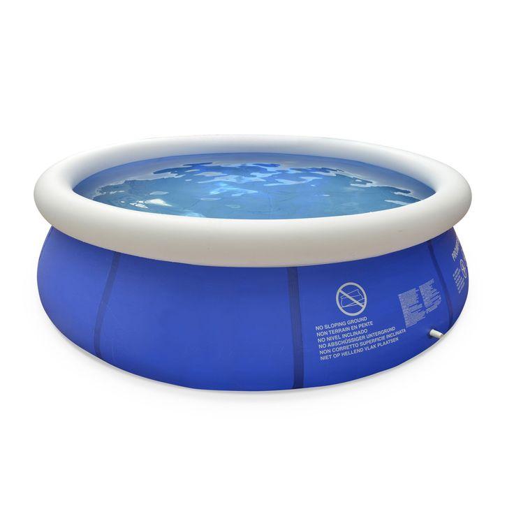 Pour acheter votre Alice's Garden - Piscine Agate gonflable bleue autoportante ronde Ø300 x 76 cm avec pompe de filtration, piscine hors sol autostable pas cher et au meilleur prix : Rueducommerce, c'est le spécialiste du Alice's Garden ...