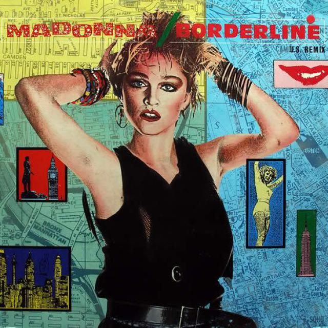 "Madonna's Record-Setting 38 Top 10 Hits: 1984 - ""Borderline"" - #10"