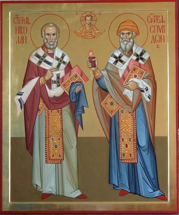 Святители Николай и Спиридон, автор Vladimir Guk. Артклуб Gallerix