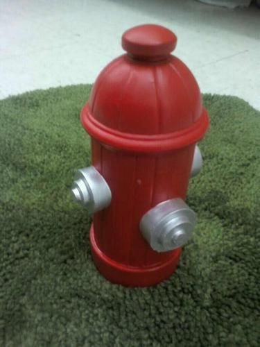 Dog Fire Hydrant Yard Indoor Outdoor Statue Pet Trainer with Stake | eBay 24.95