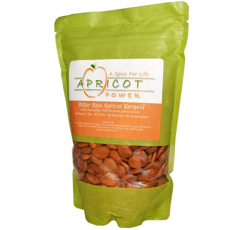 Raw Apricot Kernel's contain vitamin B17 which kills cancer cells leaving normal cells alone.