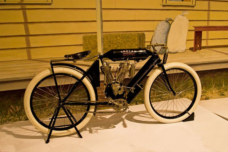 antique motorcycles for sale | ... - The Old Indian Motorcycle Fine Art Prints and Posters for Sale