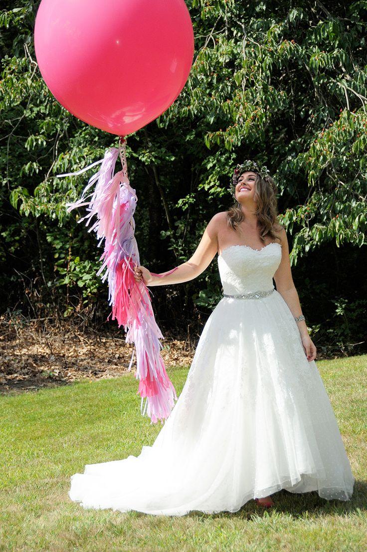 Balloons for wedding - Giant Balloons Wedding Dress Weddingdress Weddingchicks