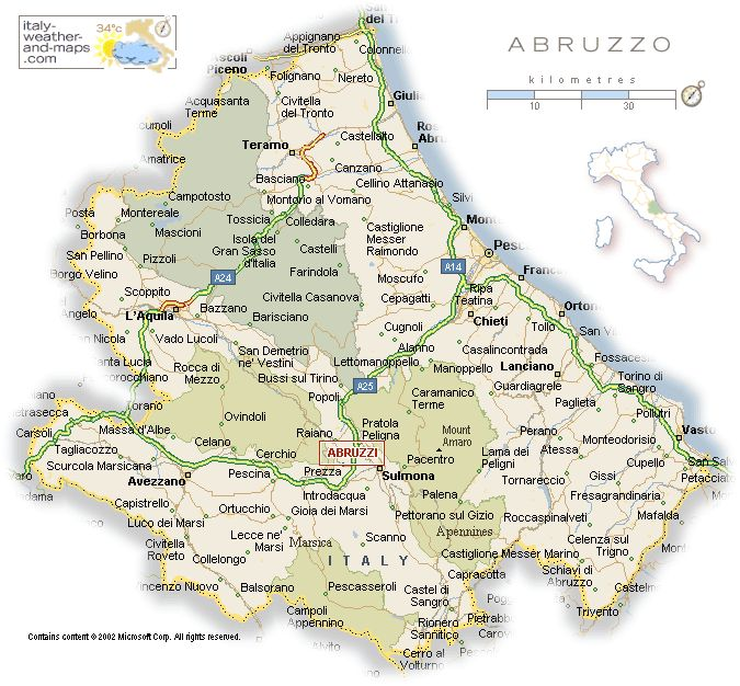 Things To Do on Vacation in Abruzzo, Italys Central Region