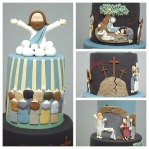 Amazing #cake featuring the life of #jesus entered in the #sydney #royal #easter #show #2012 found on The Cupcake Gallery facebook page 2 by gena