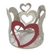 SONOMA life + style Heart Candleholder Sleeve