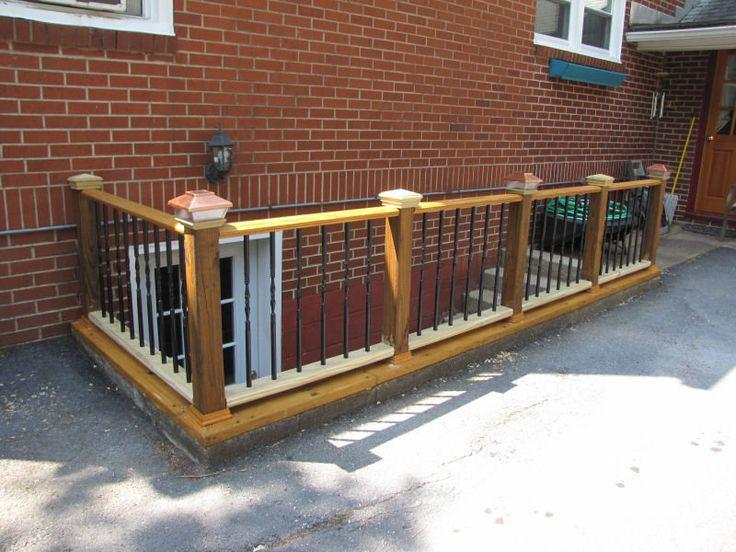 14 best outside basement stairs images on pinterest for Basement entrances
