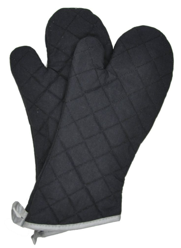Nouvelle Legende® Flame Retardant Quilted Oven Mitts (2-Pack) By Nouvelle Legend