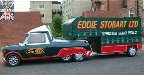 There is only 1 Eddie Stobart....