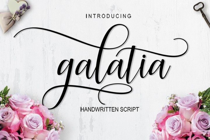 Galatia Script - $1 limited time offer By Takiy