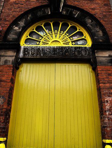 Birmingham, UK. By Paul Reynolds. Love the vibrant yellow window above.