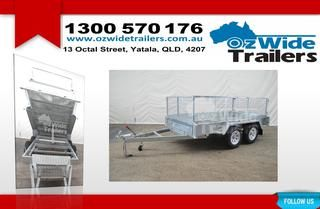 Tandem Trailers For Sale  Trailers for sale from Brisbane and the Gold Coast to all over Australia, get our trailers to your location quickly and securely. We deliver throughout Australia, ensuring the whole country can enjoy the best products, backed by our dedication to customer service and satisfaction. http://www.ozwidetrailers.com.au/tandem-trailers/