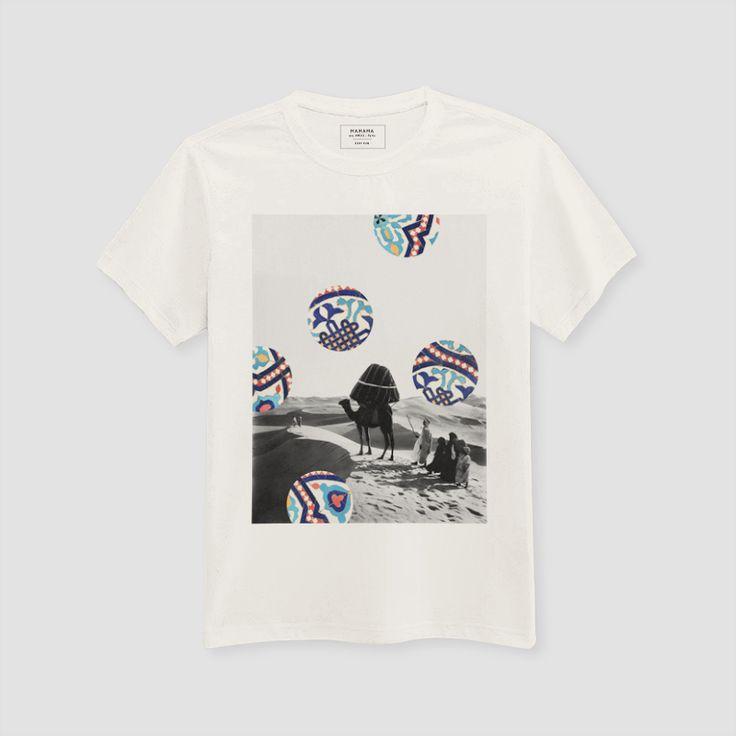 MAMAMA - ♂ Desert T-shirt (by Aecho) - Cream