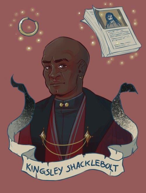 Kingsley Shacklebolt by: Brenna-Ivy