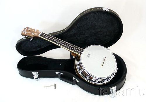 Rally Brand Nice Ukulele Banjo Walnut Wood Quality Aquila Strings Dub 2F | eBay
