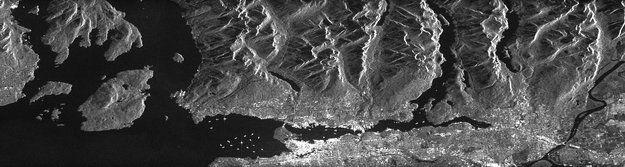 Radarsat 2 - 2013 - 05 - Vancouver harbour, Canada