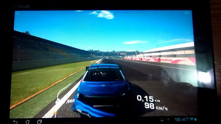 Real Racing 3 Asus tf300 (+playlist)