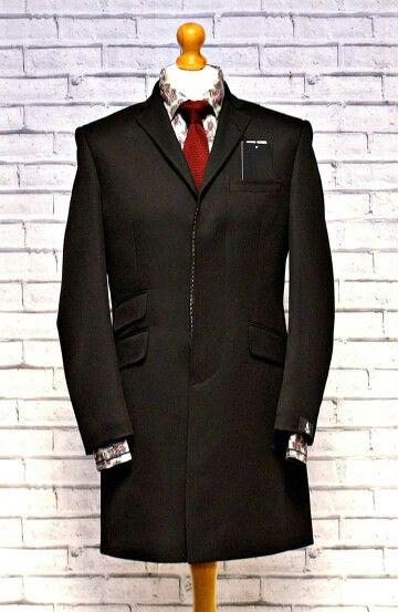 Scott By The Label Stunning Velvet Collar Overcoat from www.modclothin.co.uk
