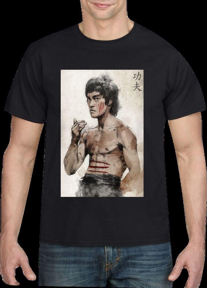 Bruce Lee T-shirt,MEN'S T SHIRT,LADIES TOP,KIDS HOODIE,XXXL SIZE,4XL SIZE,PRINT #CUSTOMPRINTED