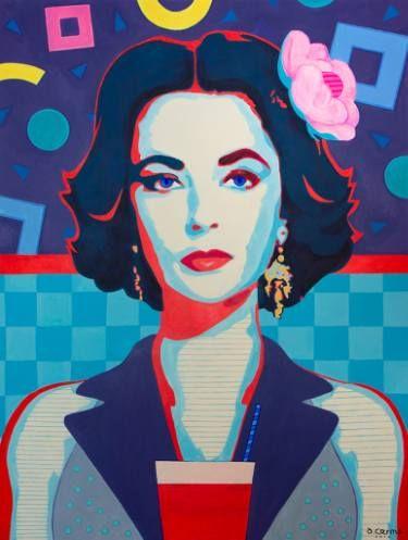 "Saatchi Art Artist Damian Cosma; Painting, ""Static Memories"" #art"